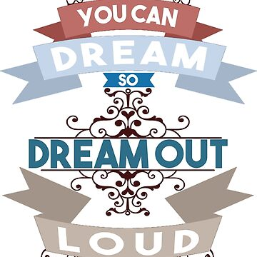 dream out loud color retro by acrobart