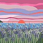 Reeds and Rising Sun by culturedarm
