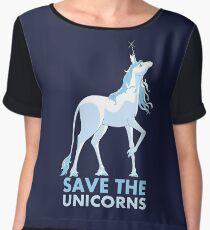 Save the Unicorns Chiffon Top