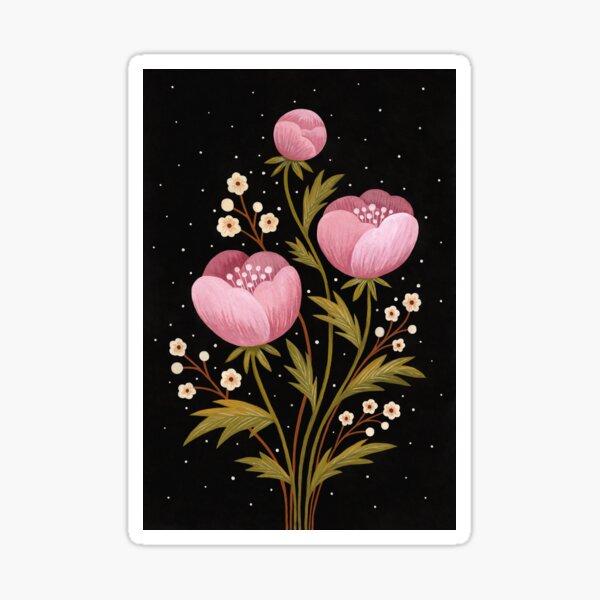 Blooms in the dark Sticker