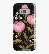 Blooms in the dark Case/Skin for Samsung Galaxy