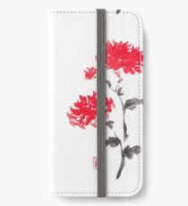 Royal pair sumi-e painting iPhone Wallet/Case/Skin