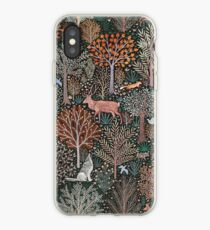 Forest animals - les animaux de la fôret iPhone Case