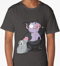 Bouncy Pigs! Long T-Shirt