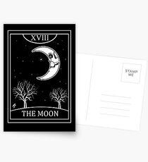 The Moon Tarot Postcards