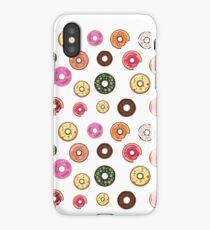 Cool Donut Lover Pattern iPhone Case/Skin