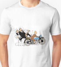 Tintin + Moto Dupond/Dupont Unisex T-Shirt