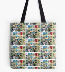 Tintin French Albums Tote Bag
