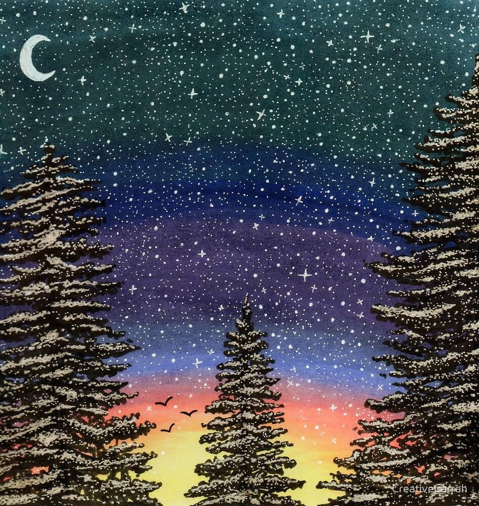 Spruce Sunset by CreativeCarrah