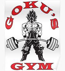 Deadlift Gym Logo Poster