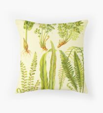 HD Vintage flowery bouquet design number 14~ Throw Pillow
