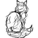 Kitty Gesture by inkedinred