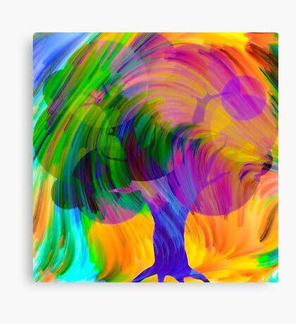 Dreaming Tree 2 Canvas Print