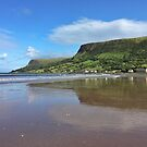 Waterfoot Beach, Northern Ireland by Ludwig Wagner