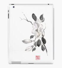 White queen sumi-e painting iPad Case/Skin