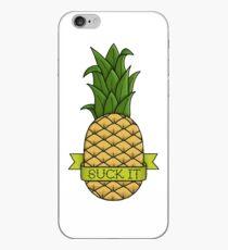 Suck It Pineapple iPhone Case