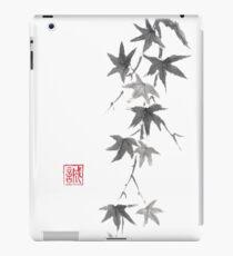 Star rain sumi-e painting iPad Case/Skin