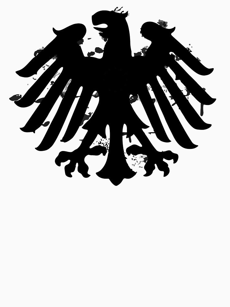 German Eagle Silhouette Unisex T Shirt By Bjknight Redbubble