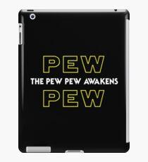 The Pew Pew Awakens iPad Case/Skin