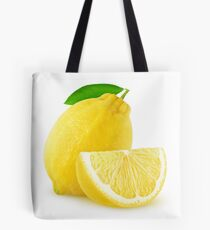 Cut lemon Tote Bag