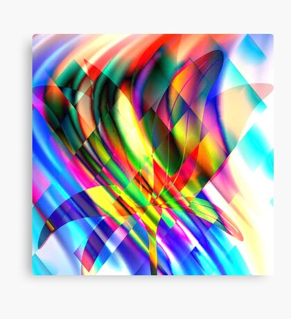 Playing with colours 2 Canvas Print