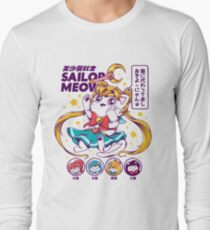 Sailor Meow Long Sleeve T-Shirt
