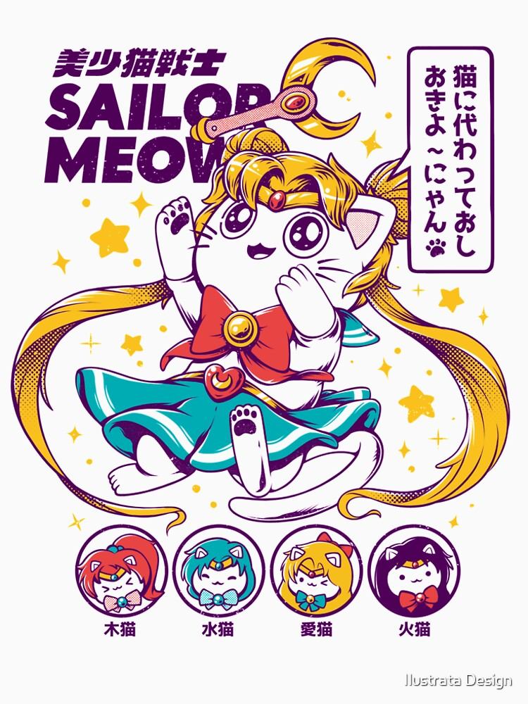 Marinero Miau de ilustrata