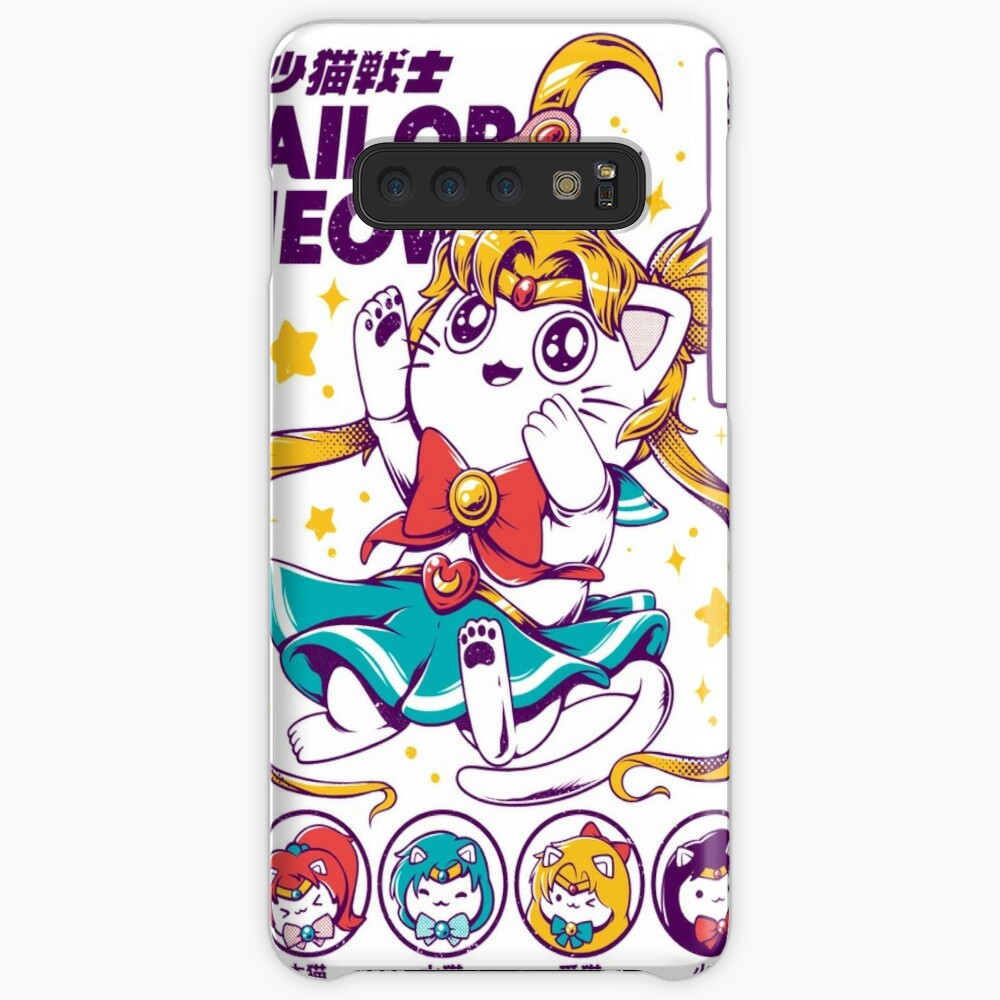 Sailor Meow Cases & Skins for Samsung Galaxy