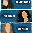 The Ladies of B99 by huguette-v