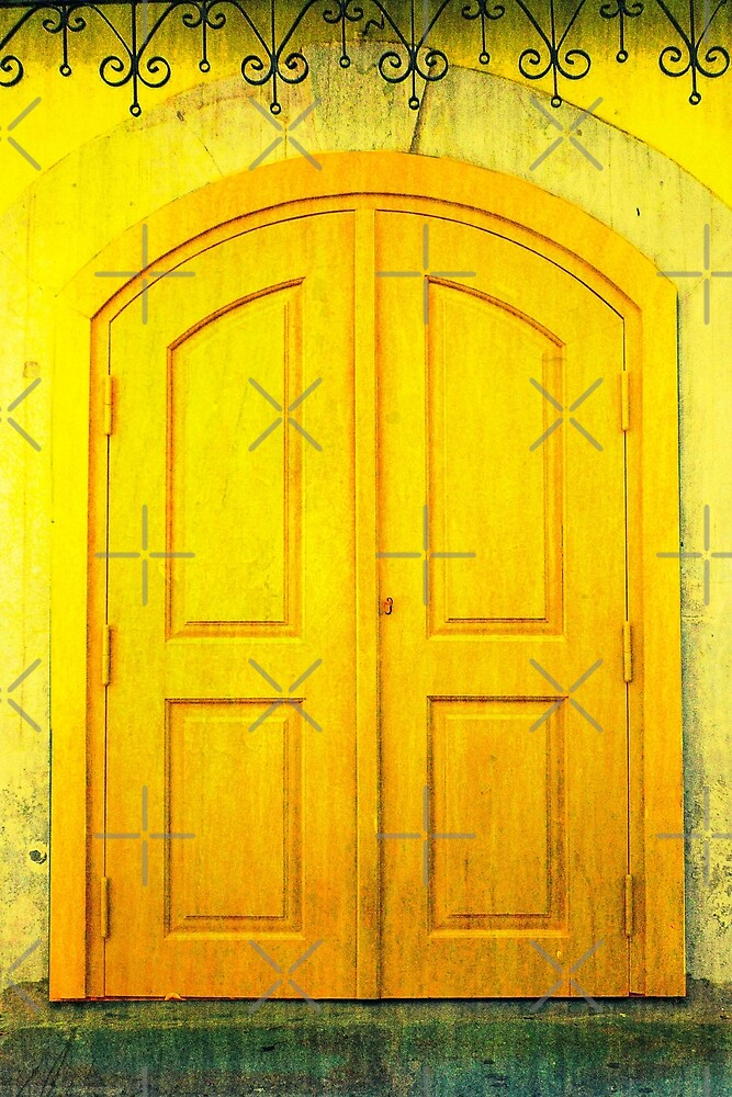Yellow Door by EvaMarIza