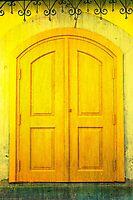 Yellow Door by EvaMarIza