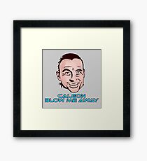 We Don't Need More Calgon Framed Print