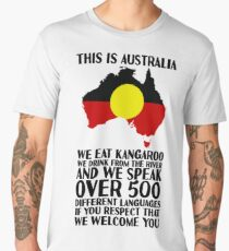 This Is Australia | We Welcome You Men's Premium T-Shirt