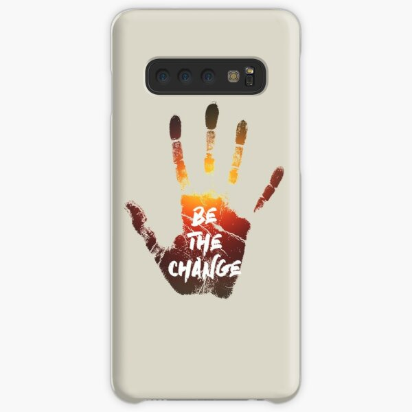 Be The Change   Colour  Samsung Galaxy Snap Case