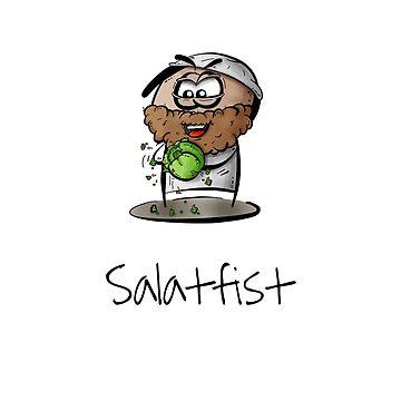 Salatfist - I think it bangs! by PixelPuff