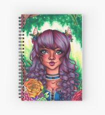 Forest Goddess Spiral Notebook