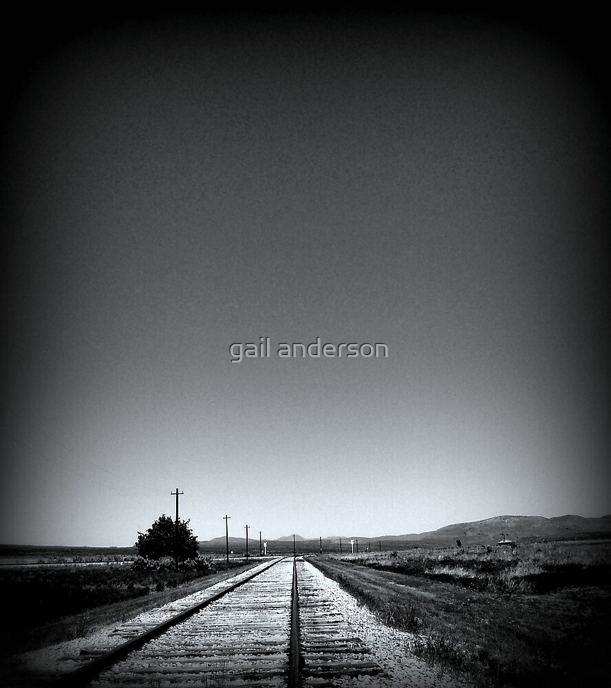 Golden Spike National Monument - tracks of time by gail anderson