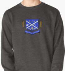 Give Us Beer College Emblem with Latin Script Pullover
