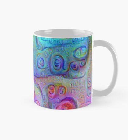 DeepDream Cyan to Magenta 5K Mug
