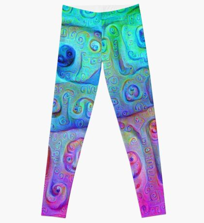 DeepDream Cyan to Magenta 5K Leggings