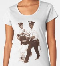 Bernie Sanders Arrested Women's Premium T-Shirt