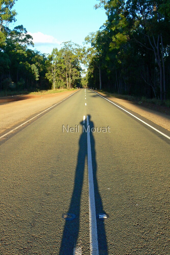 long shadows by Neil Mouat