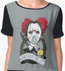 Two days Before Friday The 13th  Women's Chiffon Top