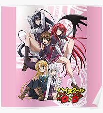 High School DxD Poster