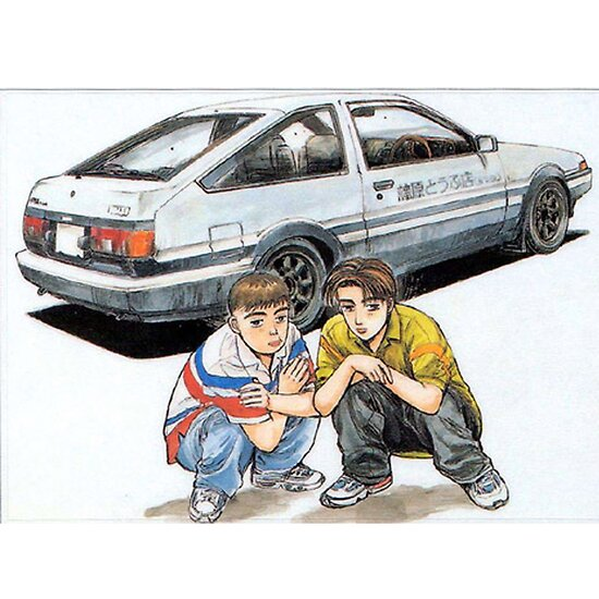 initial d posters by joejoestar redbubble