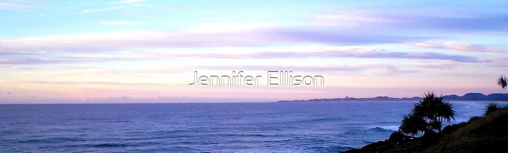 Pastel Dawn by Jennifer Ellison