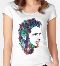 Chris Cornell Tribute Women's Fitted Scoop T-Shirt