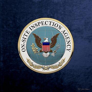 On-Site Inspection Agency - OSIA Seal over Blue Velvet by Captain7