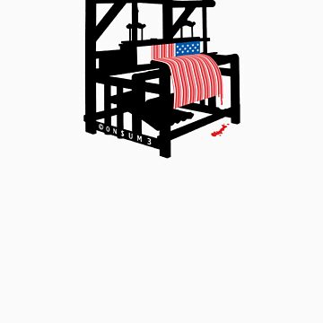 LOOMING (Bars and Stripes) by nofrillsart