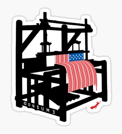 LOOMING (Bars and Stripes) Sticker